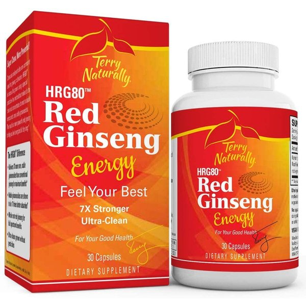 Red Ginseng HRG80™ Energy 30ct