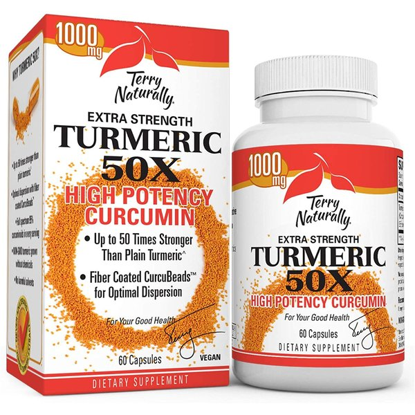 Extra Strength Turmeric 50X 60ct
