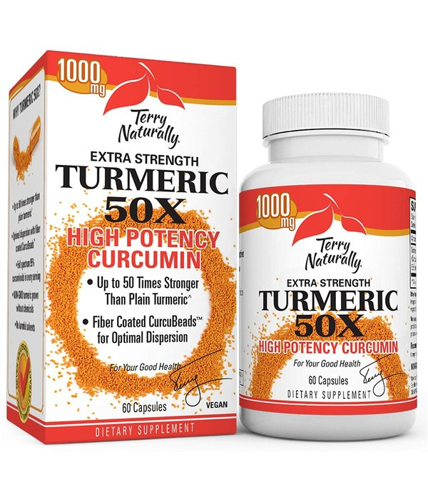 Europharma Terry Naturally Extra Strength Turmeric 50X 60ct