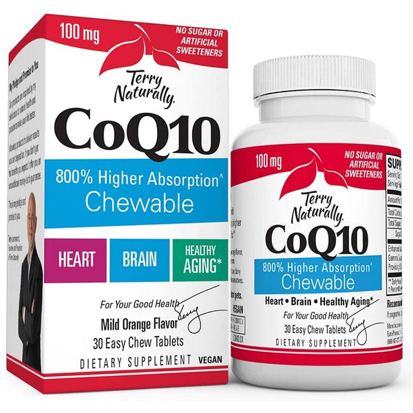 CoQ10 Ubiquinone Chewable 30ct