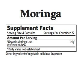 Organic India Moringa 90ct
