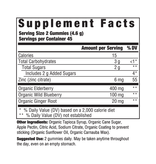 MegaFood Elderberry Immune Support Gummies 54ct