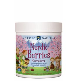 Nordic Naturals Nordic Berries Cherry Berry Flavor 120 ct