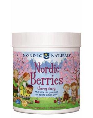 Nordic Naturals Nordic Berries Cherry Berry Flavor 120 ct