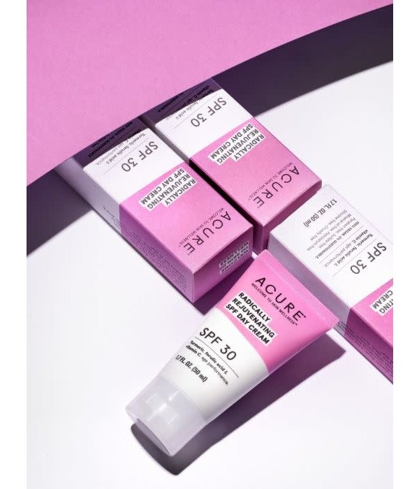 Acure Acure Radically Rejuvenating SPF 30 Day Cream 1.7oz