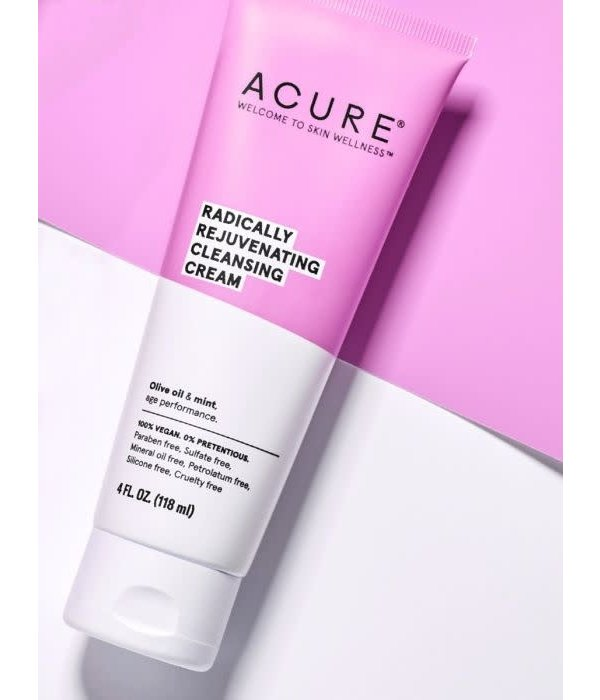 Acure Radically Rejuvenating Cleansing Cream 4oz