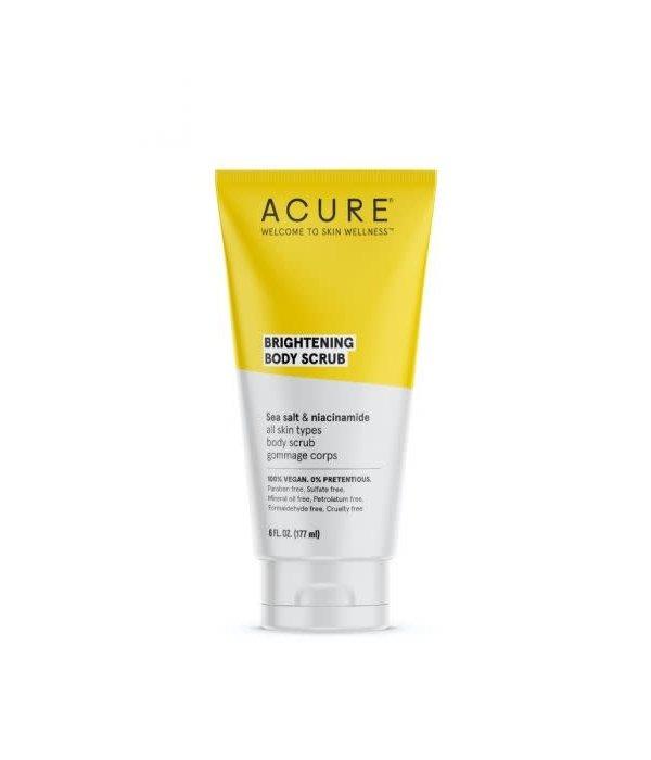 Acure Brightening Body Scrub 6oz