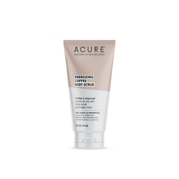 Acure Energizing  Coffee Body Scrub 6oz