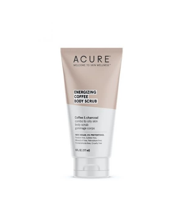 Acure Acure Energizing  Coffee Body Scrub 6oz