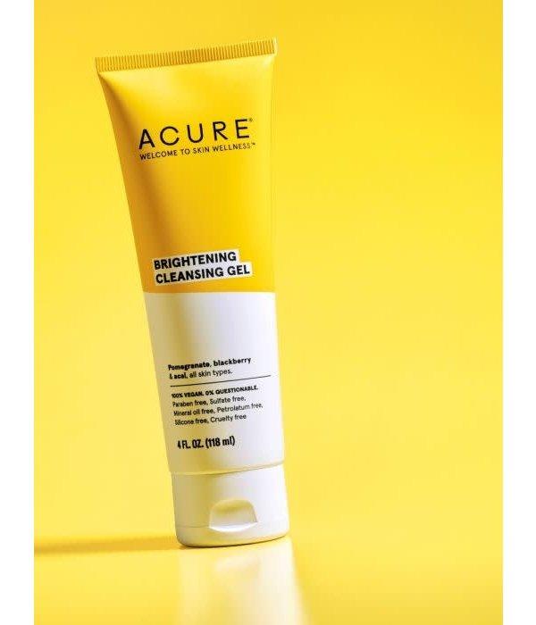 Acure Brightening Cleansing Gel 4oz