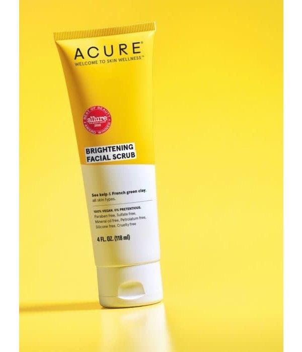 Acure Brightening Facial Scrub 4oz