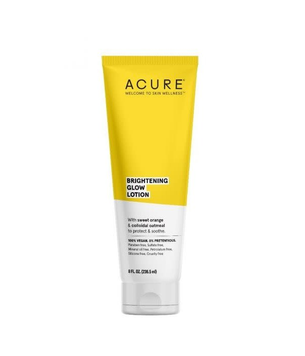 Acure Brightening Glow Lotion 8oz
