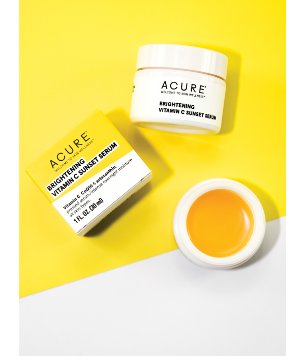 Acure Acure Brightening Vitamin C  Sunset Serum 1oz