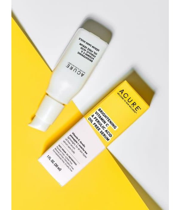 Acure Acure Brightening Vitamin C & Ferulic Acid Oil Free Serum 1oz