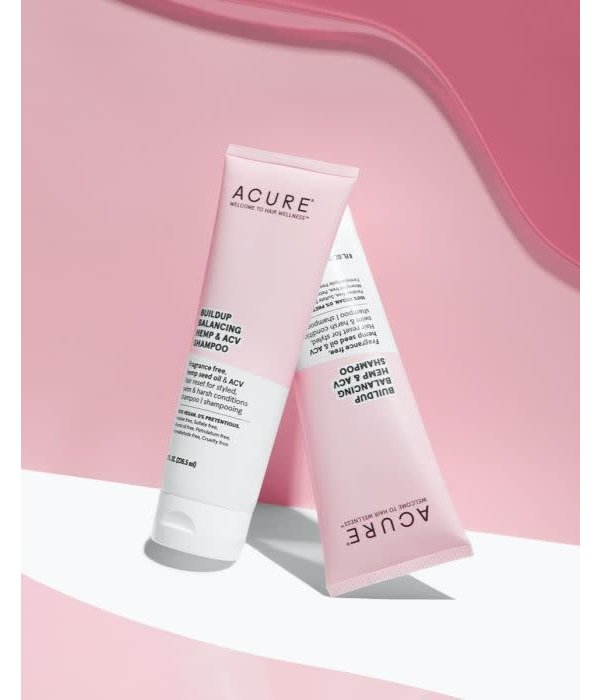 Acure Acure BuildUp Balancing Hemp & ACV Shampoo 8oz