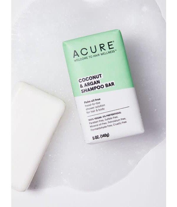 Acure Coconut & Argan Shampoo Bar 5oz
