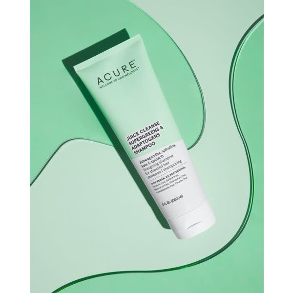 Juice Cleanse Supergreens & Adaptogens Shampoo  8oz