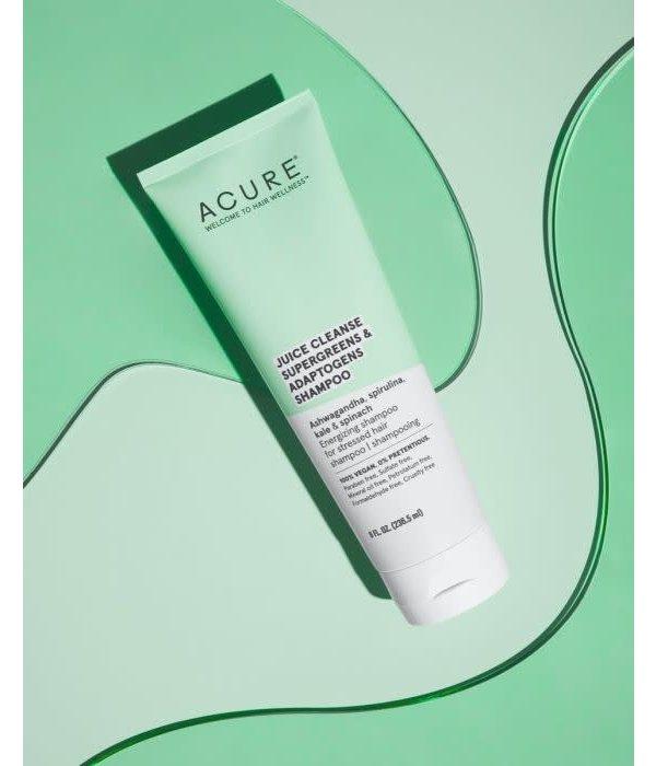Acure Juice Cleanse Supergreens & Adaptogens Shampoo  8oz