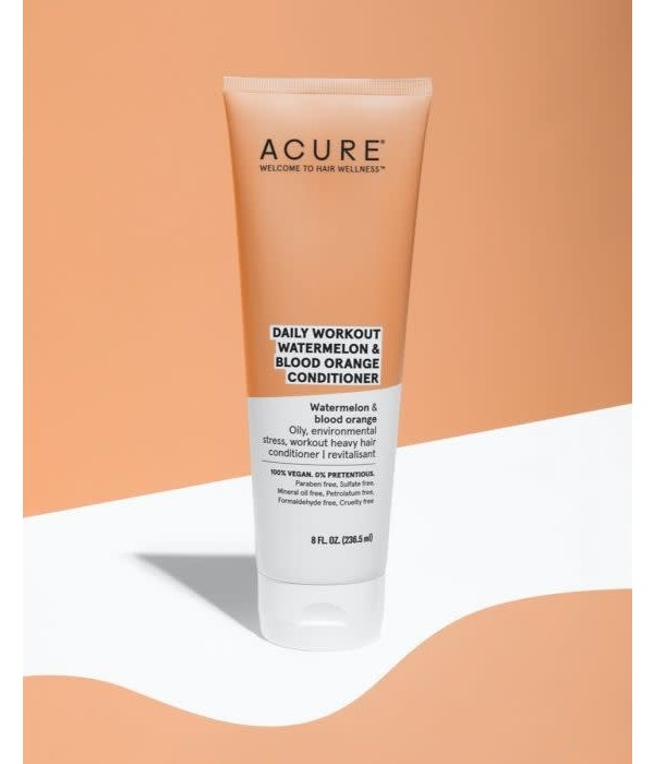 Acure Daily Workout Watermelon Conditioner 8oz