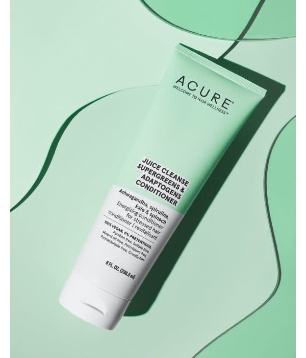 Acure Acure Juice Cleanse Supergreens & Adaptogens Conditioner 8oz