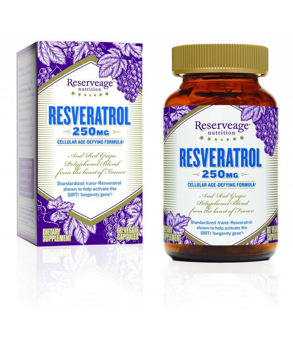 Reserve Life RN Resveratrol 250mg 60ct