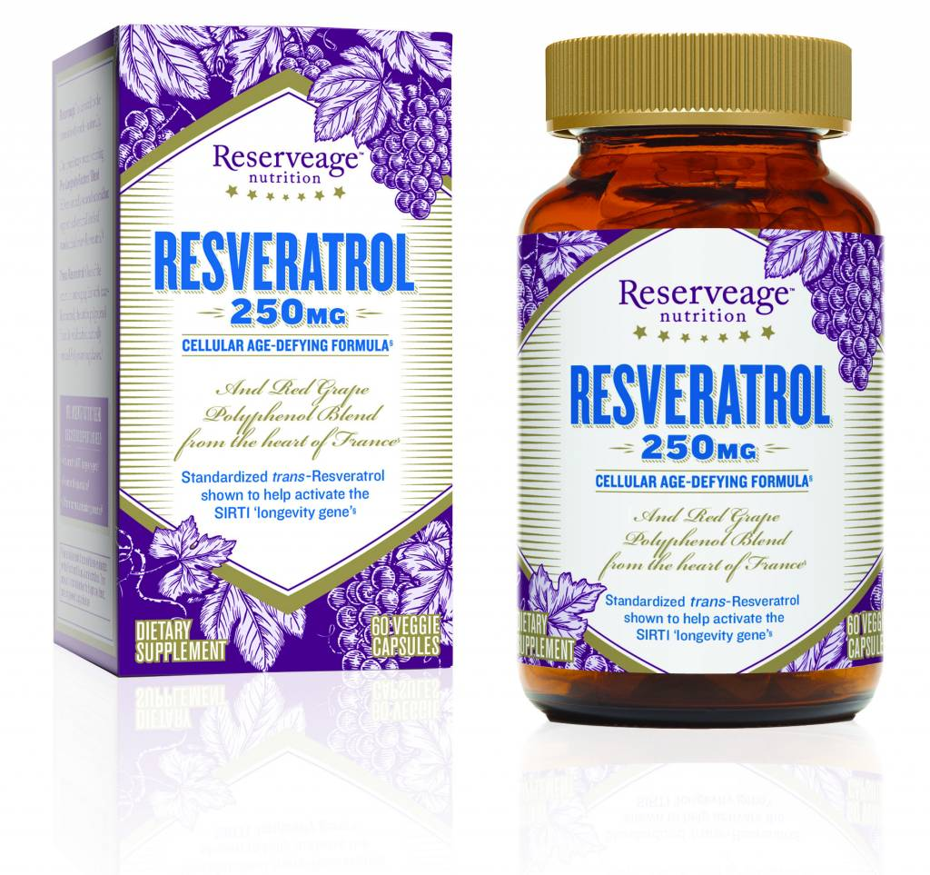Reserve Life Reserveage Nutrition Resveratrol 250 mg 60 ct