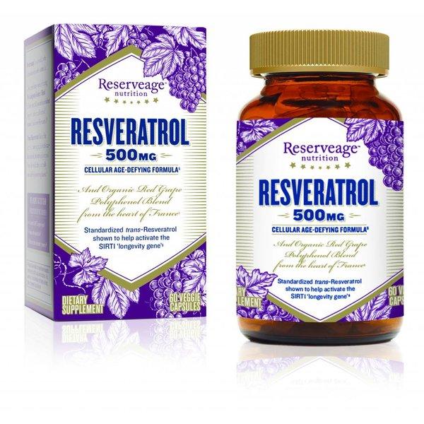 Resveratrol 500 mg 60 ct