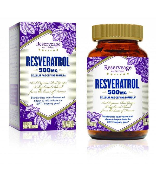 Reserve Life RN Resveratrol 500mg 60ct