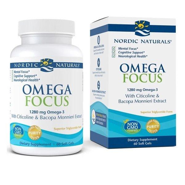 Nordic Omega Focus 60ct