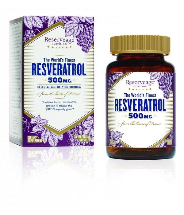 Reserve Life RN Resveratrol 500mg 30ct