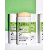 Acure Acure Cedarwood & Mint Deodorant 2.20z