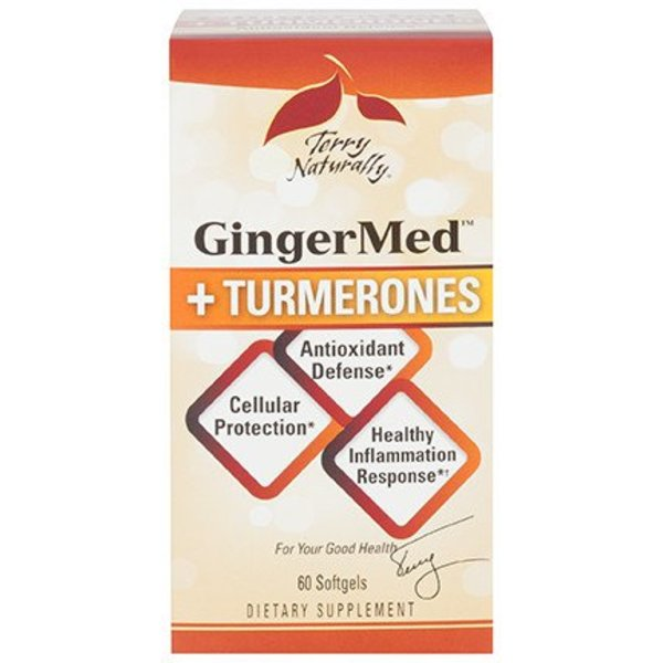 Terry Naturally GingerMed + Tumerones 60 ct 00