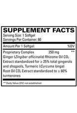 Europharma Terry Naturally GingerMed + Tumerones 60 ct