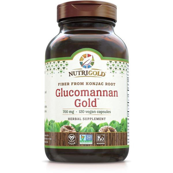 Glucomannan Gold 700mg 120ct