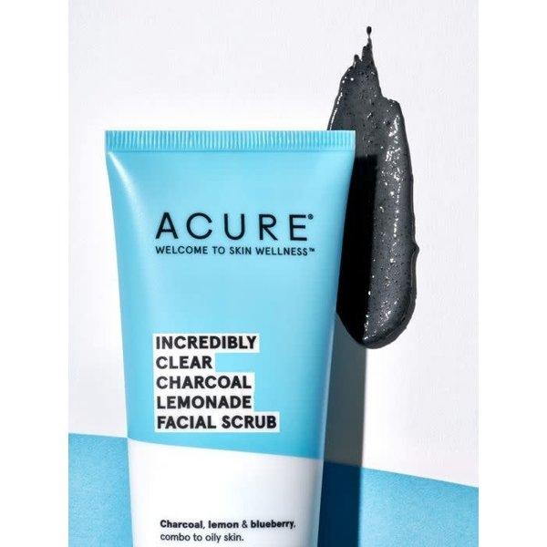 Incredibly Clear Charcoal Lemonade Facial Scrub 4oz