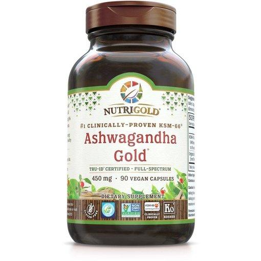 Nutrigold Ashwagandha Gold 450mg 90 ct