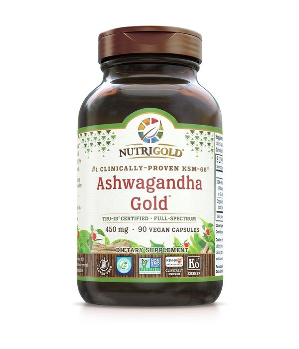 Nutrigold Nutrigold Ashwagandha Gold 450mg 90 ct