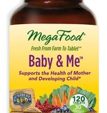 MegaFood MegaFood Baby & Me 120 ct