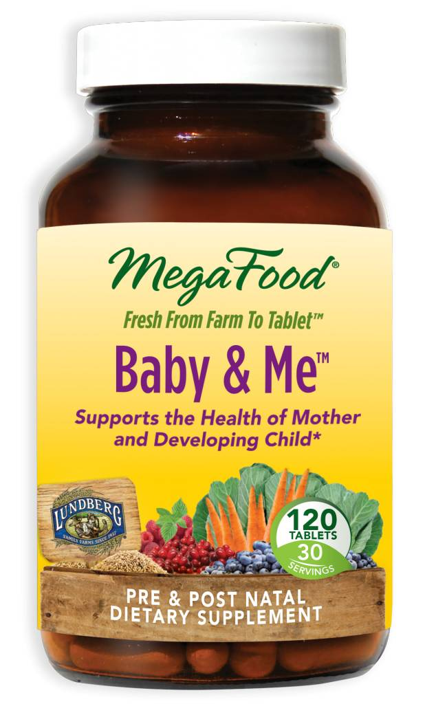 MegaFood Baby & Me 120 ct