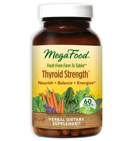 MegaFood Thyroid Strength 60 ct