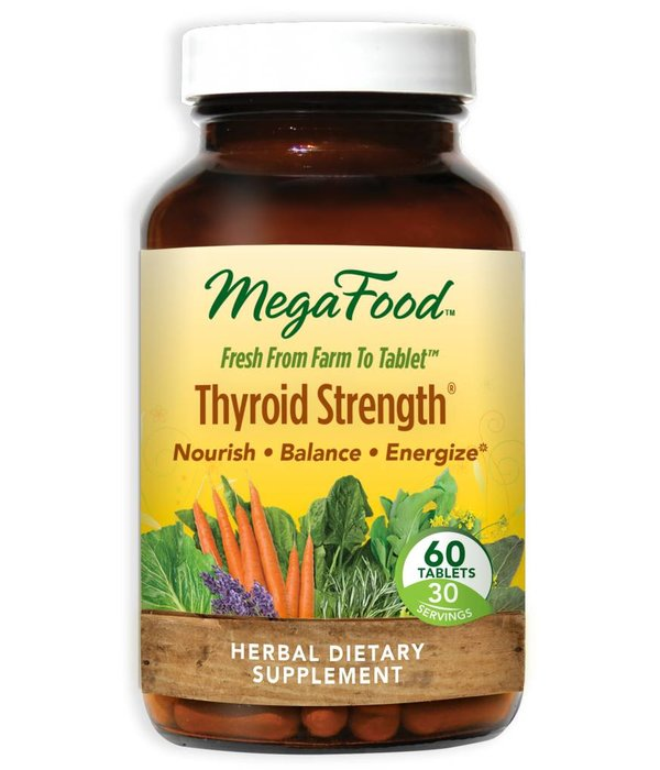 MegaFood MF Thyroid Strength 60ct