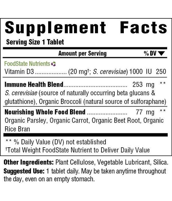 MegaFood Vitamin D3 1000 IU 60 ct 00