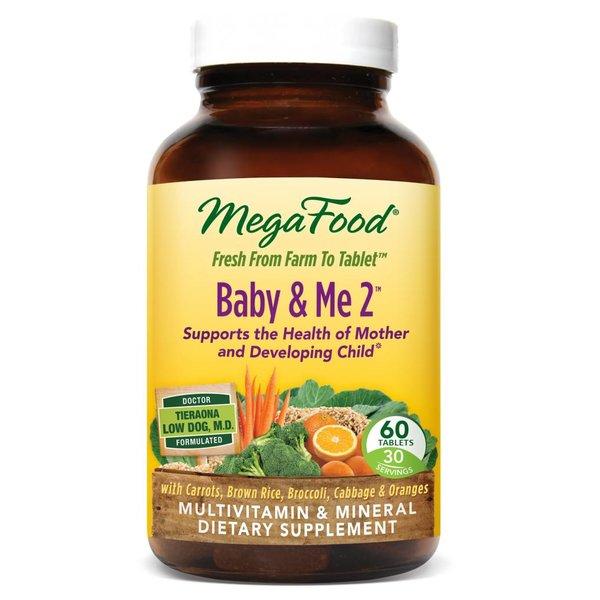 MegaFood Baby & Me 2 60ct