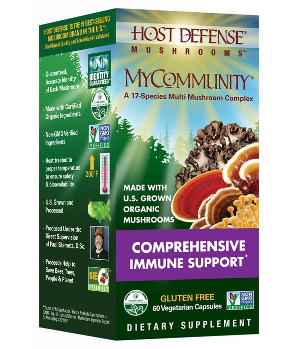 Host Defense HD MyCommunity Immune Support 60ct