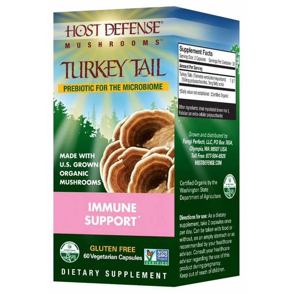 Turkey Tail Immune Support 60 ct