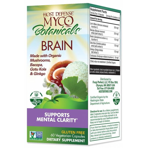 MycoBotanicals Brain 60 ct