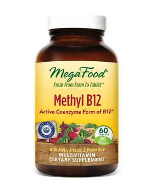 MegaFood Methyl B12 60 ct