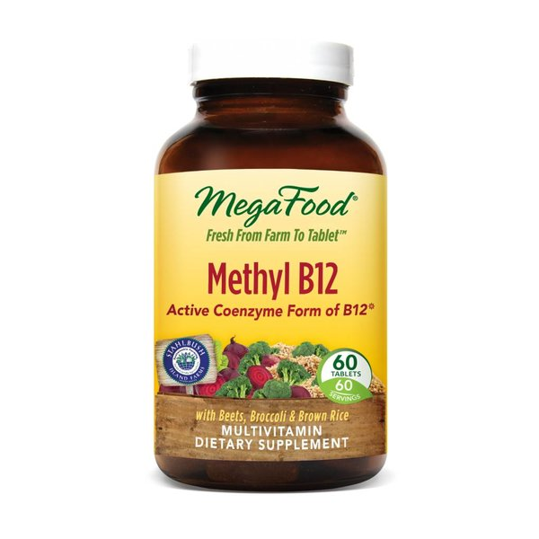 MegaFood Methyl B12 60ct