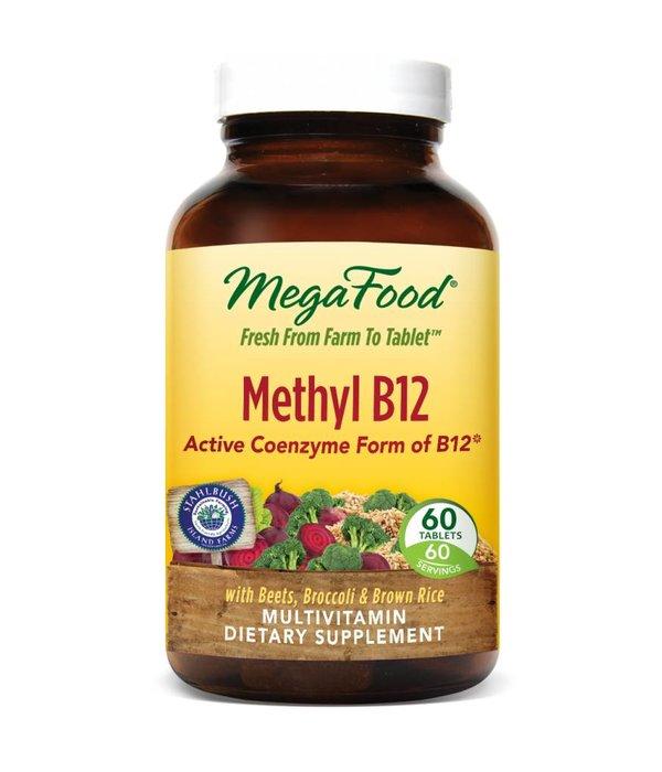 MegaFood MegaFood Methyl B12 60ct