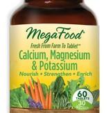 MegaFood MegaFood Cal, Mag & Potassium 60ct